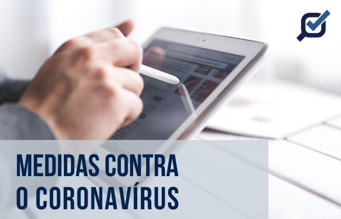 Medidas contra o Coronavírus