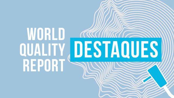 Destaques do World Quality Report 2020