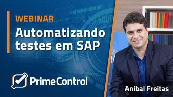 Webinar – Automatizando testes em plataforma SAP